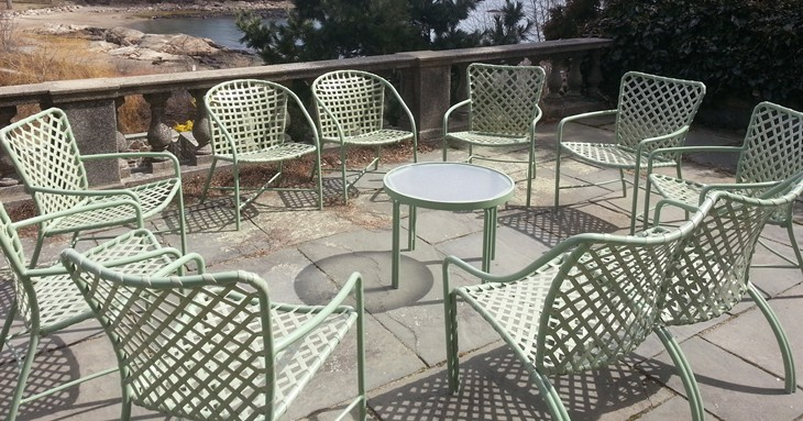Charmant /Portals/0/UltraMediaGallery/417/3/thumbs/1.vintage. Vintage Refinished Brown  Jordan Chairs