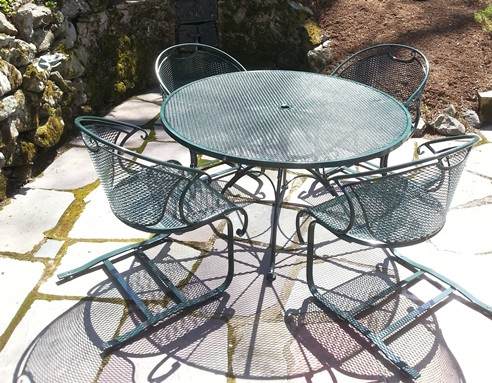 Wrought Iron And Cast Aluminum Repair And Painting